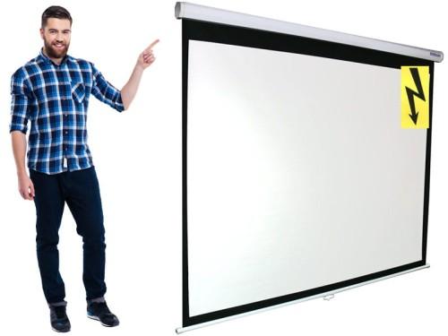 260x195 Ekran Projekcyjny Elektryczny F 4 3 16 9 Sklep Z Ekranami