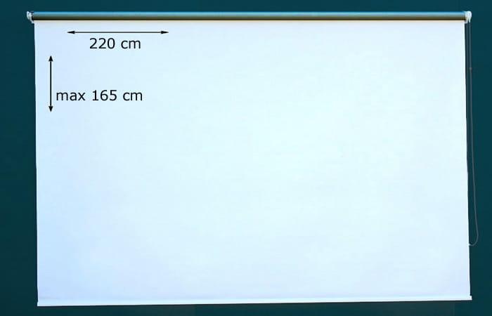 220x165 Ekran Projekcyjny Manualny Format 4 3 Eko Sklep Z Ekranami